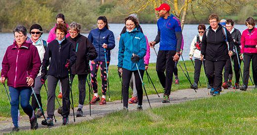 Journée nationale de la marche nordique : « Attirer des pratiquants loisir »