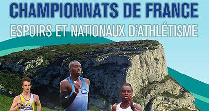 Championnats de France Espoirs et Nationaux : les qualifiables
