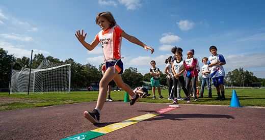 Kinder Joy of Moving Athletics Day : Des portes grandes ouvertes