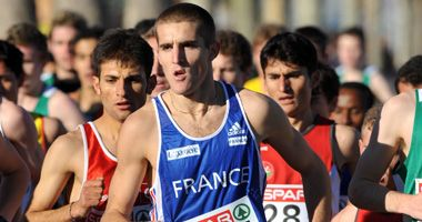 Florian Carvalho champion d'Europe junior de Cross-country à Bruxelles