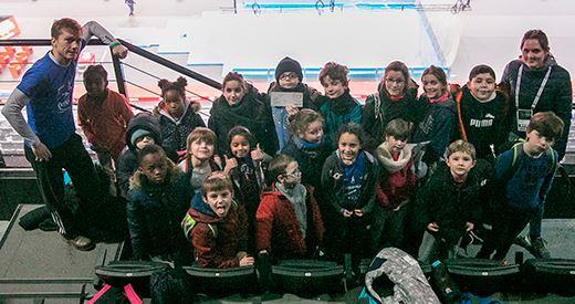 Kid stadium : Les jeunes dans les coulisses de Bercy