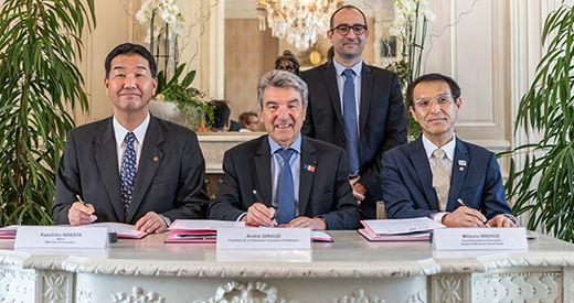 Partenariat France-Japon : Une convention signée entre la FFA, la préfecture de Hyogo et la ville de Mikki