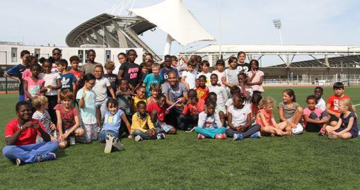 Diamond League de Paris : Compaoré à la rencontre des jeunes Parisiens
