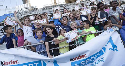 Kinder + Sport Athletics Day : découvrir, courir et sourire