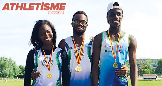 Athletisme Magazine : Les Zeze, Les liens du 100