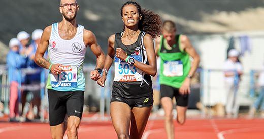 Championnats de France du semi-marathon : la passe de trois pour Woldu