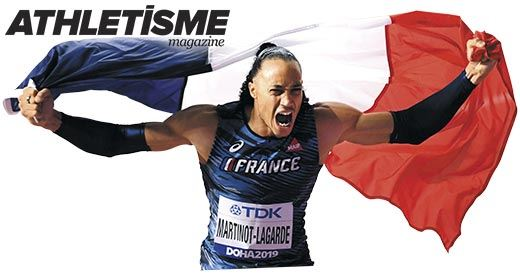 Athlétisme Magazine : Pascal Martinot-Lagarde, régulateur de puissance