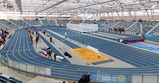 Championnats de France Elite en salle : Un Stadium taillé pour la performance