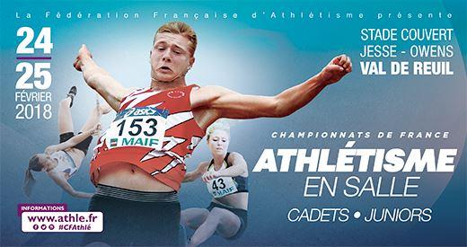 Championnats de France cadets-juniors en salle : La releve en action