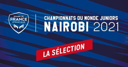 Championnats du Monde juniors: La sélection française