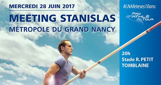 Meeting Stanislas de Nancy : Bosse de retour aux affaires