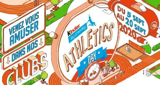 Kinder Joy of Moving Athletics Day : 65 000 enfants attendus dans les clubs