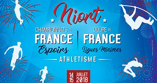 Championnats de France espoirs: Du haut niveau à Niort !