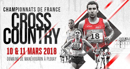 Championnats de France de Cross-country : liste des qualifiables