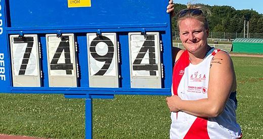 Meeting du Lyon Athlétisme : Rentrée record pour Tavernier