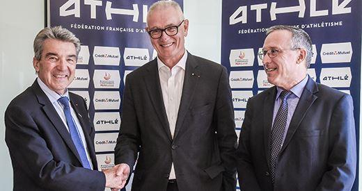 Partenariat : Le Crédit Mutuel aux côtés de la FFA et de Paris 2020