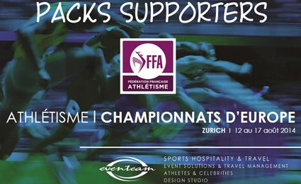 Championnats d'Europe : Packs Supporters
