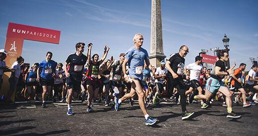 Journée olympique : L'athlétisme aux premières loges