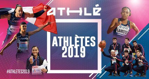 Athlètes de l'année : Martinot-Lagarde et Lamote honorés
