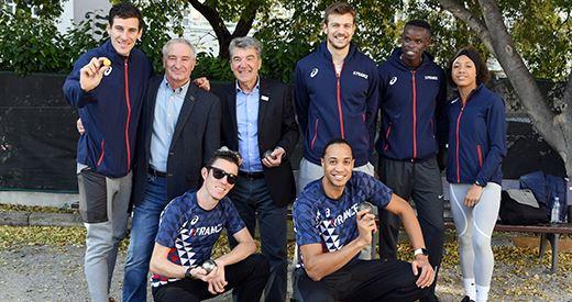 Stage federal : une partie des athletes elite reunie a Marseille