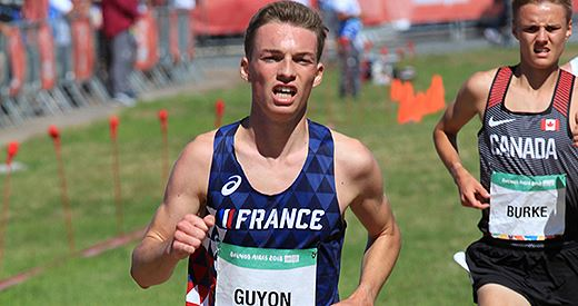 Jeux olympiques de la jeunesse : Baptiste Guyon double la mise