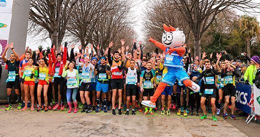 Ekiden de Marseille : Le relais a la cote !