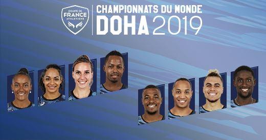 Championnats du monde de Doha: Les hurdlers à suivre