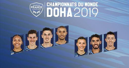 Championnats du monde de Doha: Les demi-fondeurs à suivre
