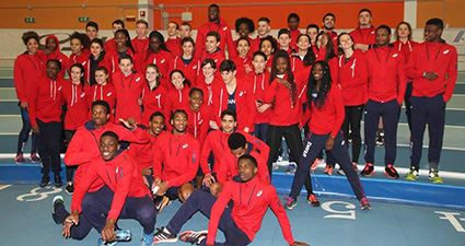 Matches internationaux jeunes : records de France pour Lamou et Pizzo