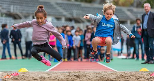 Kinder + Sport Athletics Day 2018 : Les clubs dans les starting-blocks !