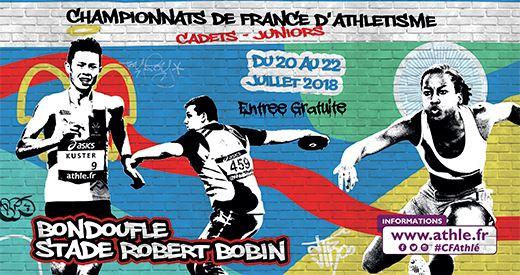 Championnats de France cadets et juniors : Les médaillés internationaux à Bondoufle !