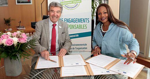 Paris 2020 : Une charte eco-responsable signee avec le Ministere des sports et WWF