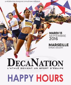HAPPY HOURS - DécaNation 2016