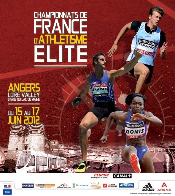 high quality competitive price top quality Championnats de France Elite 2012 - Angers (P-L ...