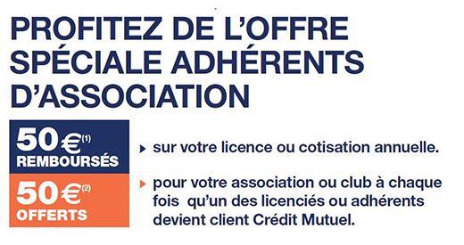 Crédit Mutuel : Une offre spéciale adhérents d'association