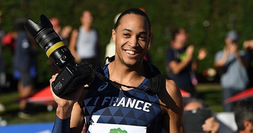 Talent d'athlète : Pascal Martinot-Lagarde et la photo