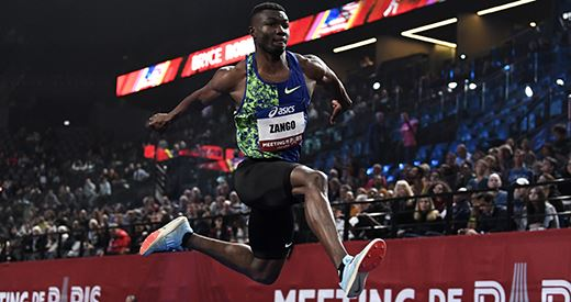 Meeting de Paris indoor : Zango, triple sauteur capital