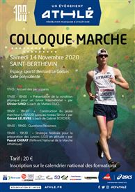 Colloque « Marche » le 14 novembre 2020 à Saint Berthevin