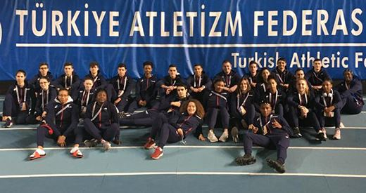 Match international à Istanbul : Les cadets dans les starting-blocks