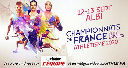 Championnats de France Elite et espoirs : Où et comment suivre la compétition