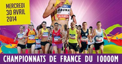 Championnats de France du 10 000m : liste des qualifiables