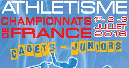 Championnats de France Cadets-Juniors : les qualifiables