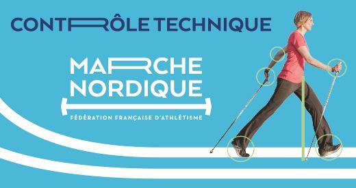 La Fédération Française d'Athlétisme lance le Contrôle Technique Marche Nordique !