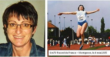Décès de Nadine Fourcade, internationale  de 1980 à 1988