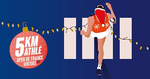 5 km virtuel : Courez avant les fêtes