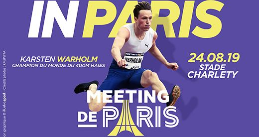 Meeting de Paris : Karsten Warholm, l'attraction venue du grand Nord